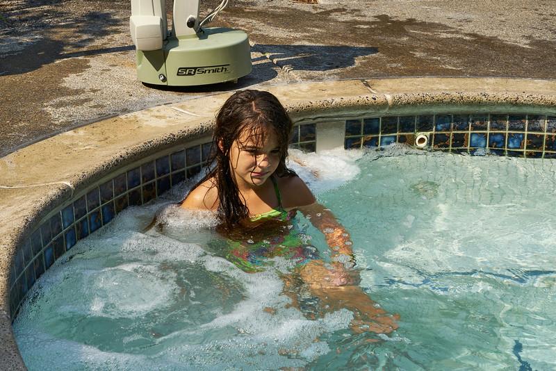 Sophia in the spa