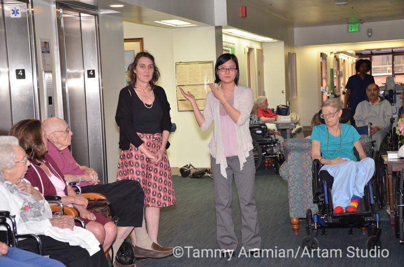 5134 - Keesje and Bethany, activities office and art show coordinators.