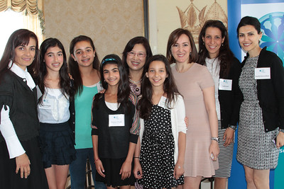 2013 Tea and Conversation: SF First Lady Anita Lee and Noosheen Hashemi