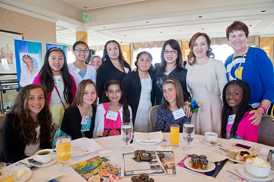 2015 Tea and Conversation: SF First Lady Anita Lee and Noosheen Hashemi