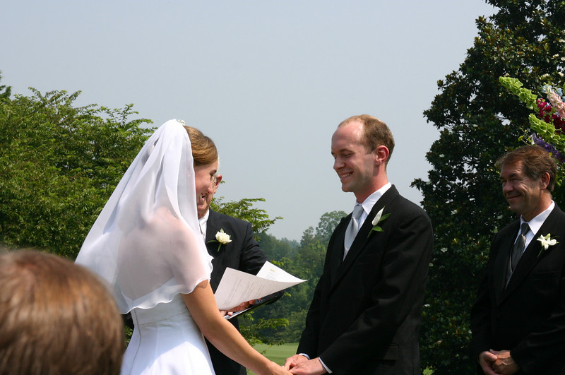 Kathleen & Brad July 3, 2004
