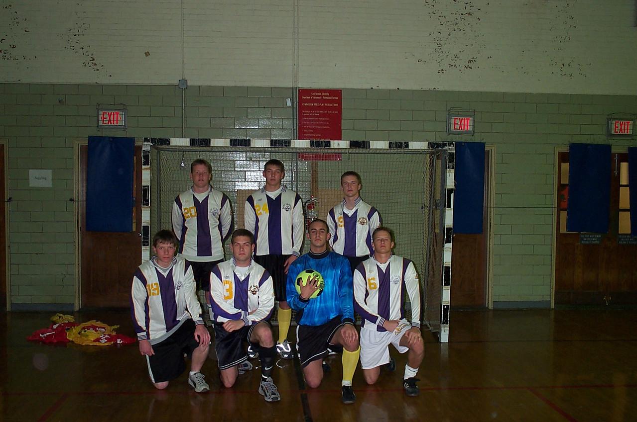 3/26/2001 Indoor Soccer  Jon Deutsch, Justin Lucas