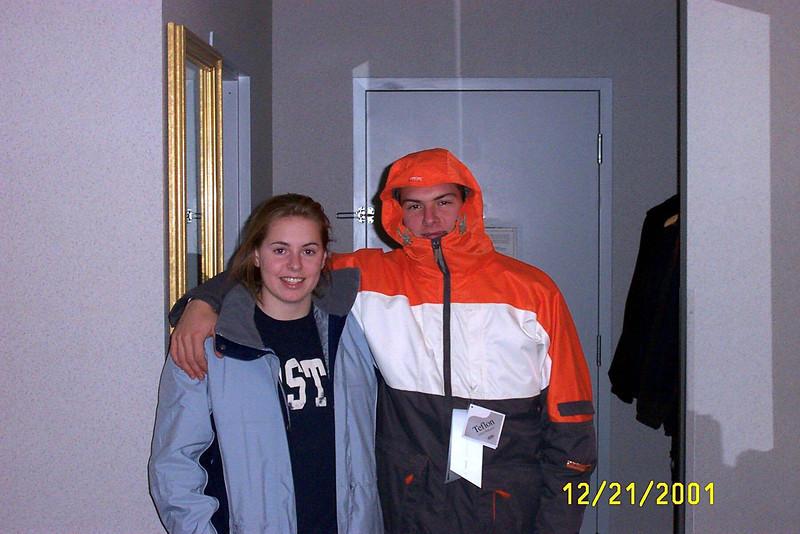 12/21/2001 Cheryl Deutsch and Jon Deutsch