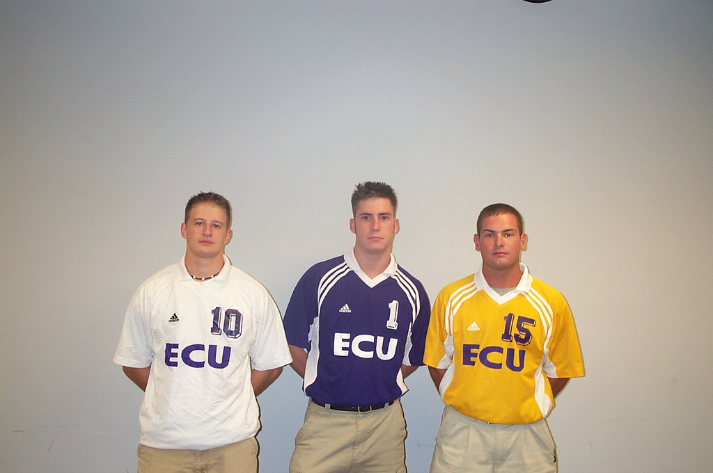 8/22/2002 Club Soccer captains: Justin Lucas, Chris Kennedy, Jon Deutsch