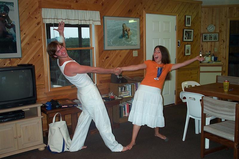 7/22/2002 Big Chill Beach Vacation - Brendan Sloan, Laura Espinoza