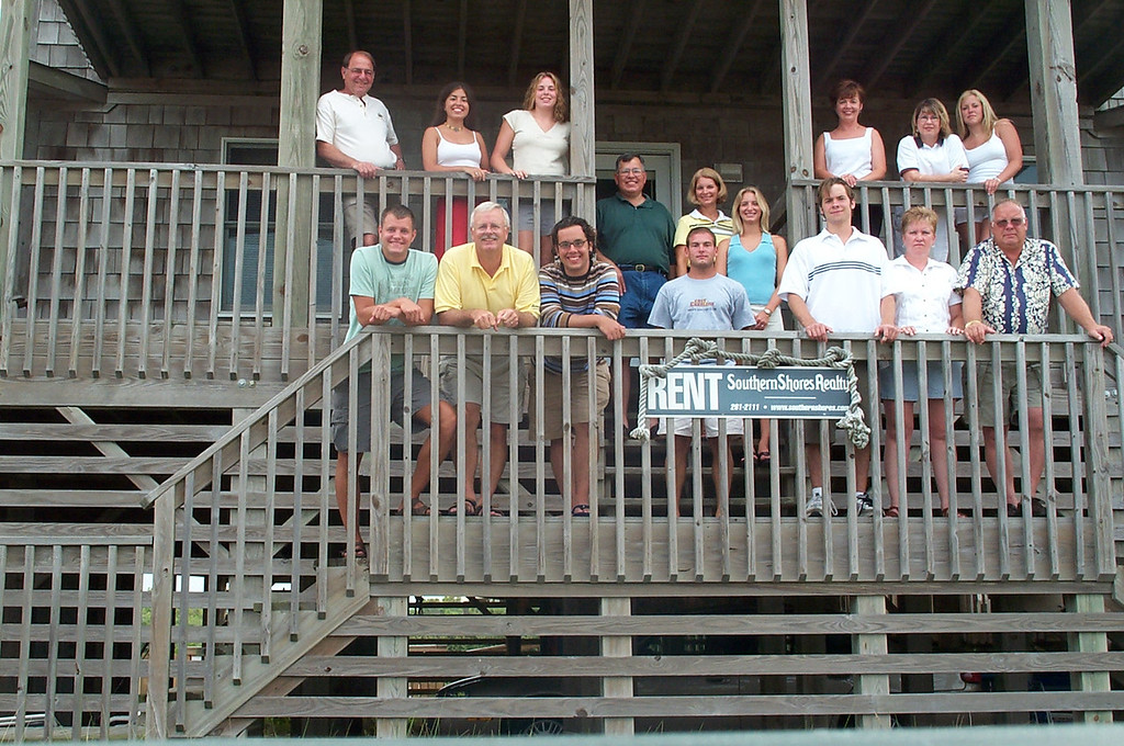 7/27/2002 Big Chill Beach Vacation<br /> <br /> Stan Deutsch, Matt Merrill, Laura Espinoza, Bill Merrill, Cheryl Deutsch, Steve Espinoza, Mike Espinoza, Sue Merrill, Jon Deutsch, Beck Merrill, Brendan Sloan, Gail Espinoza, Melody Sloan, Pat Deutsch, Amanda Sloan, Jeff Sloan.
