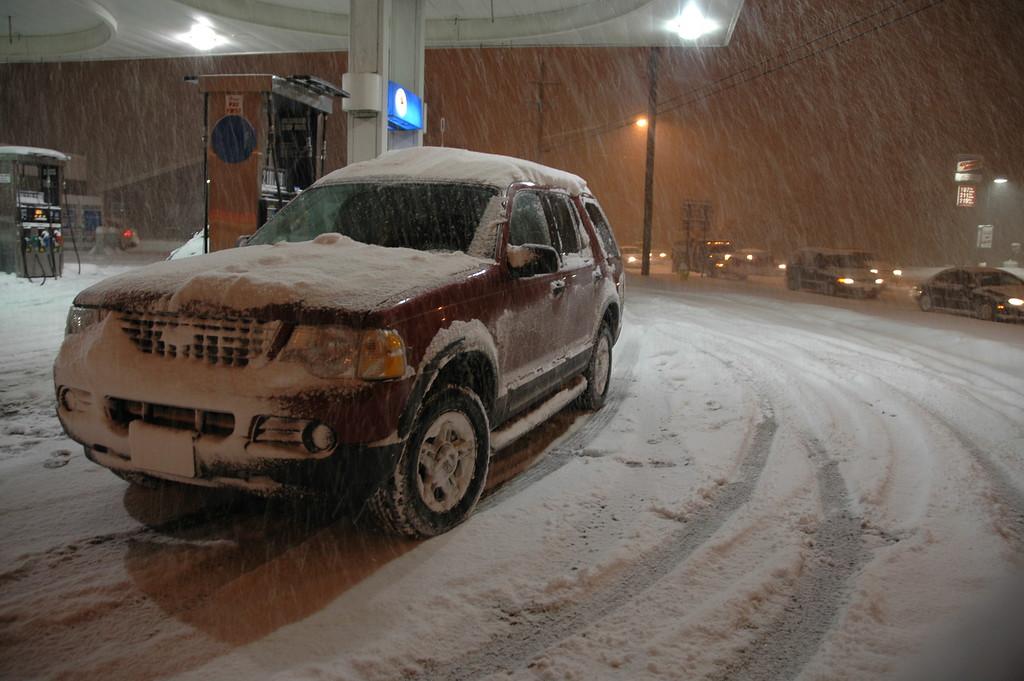 12/24/2004 Snowy Christmas Eve in Buffalo.