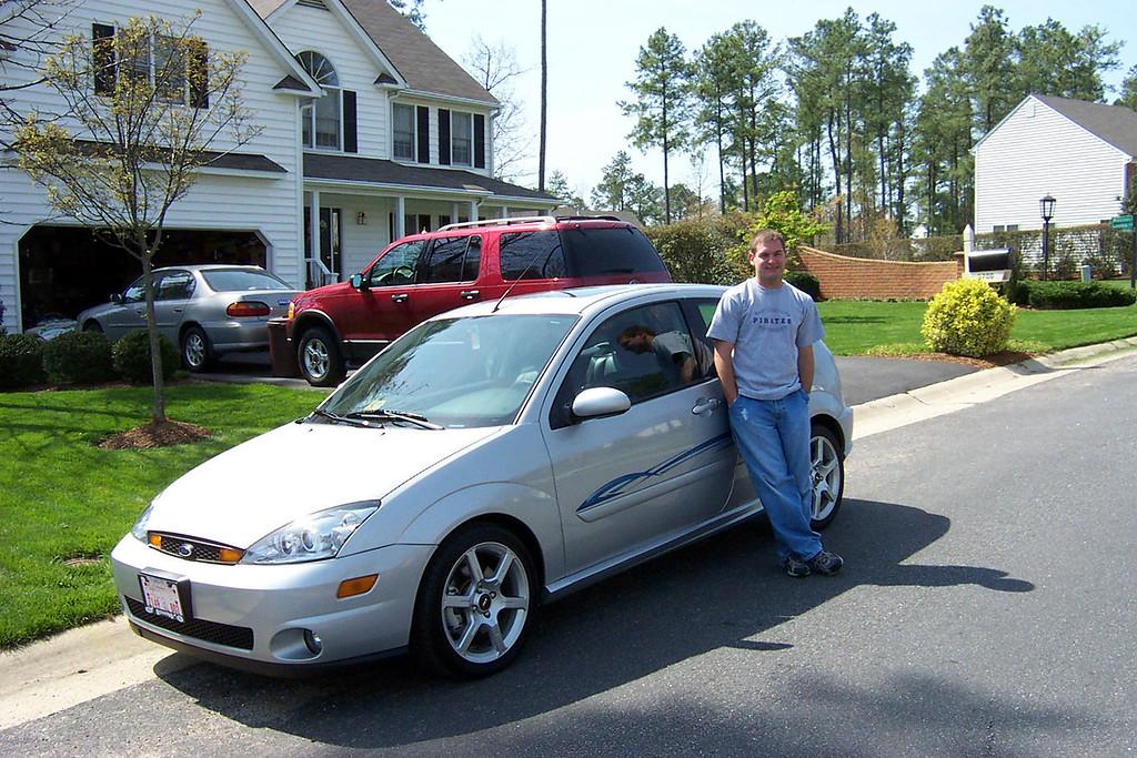 April 2004 - New Ford Focus SVN - Jon Deutsch.
