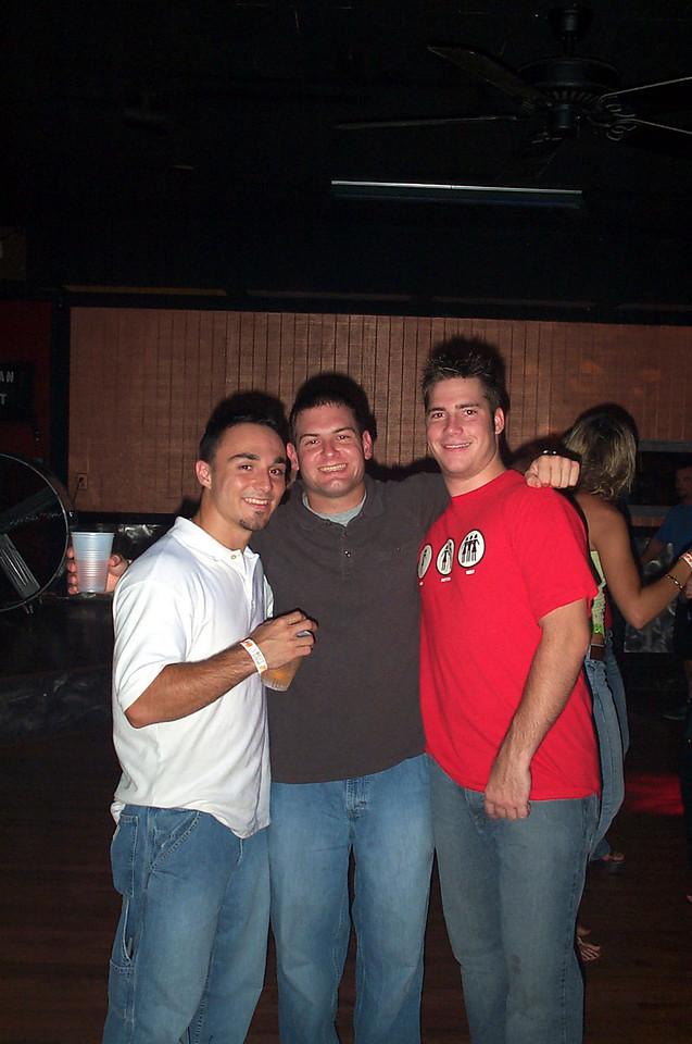 8/20/2004 - Chris Webster, Jon Deutsch, Chris Kennedy.