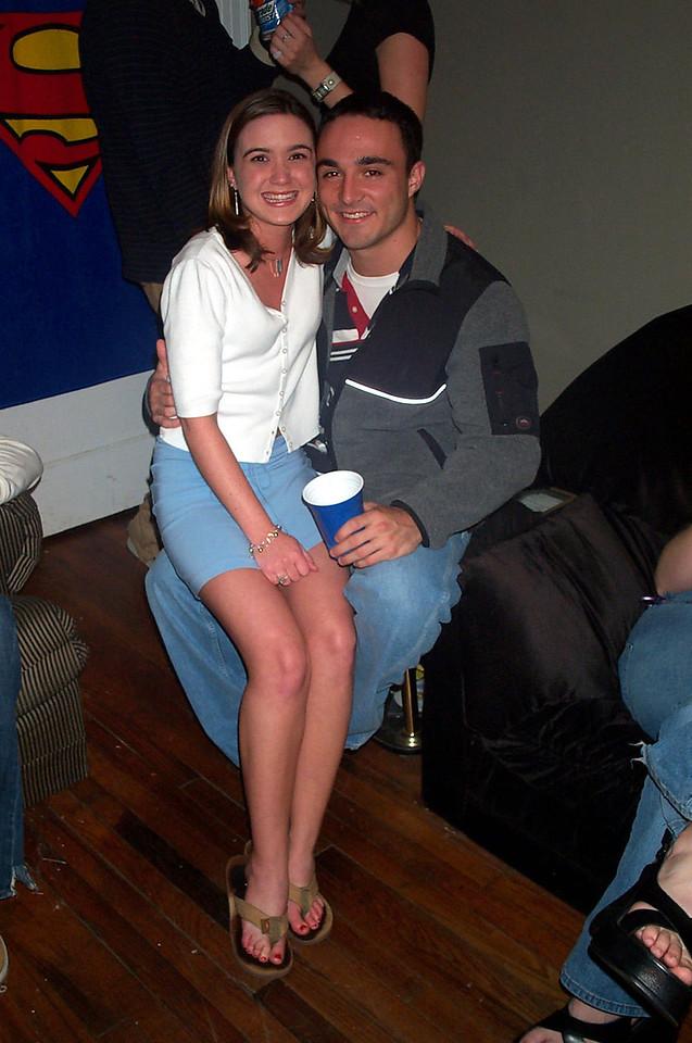 4/2/2004 - Heather Wade, Chris Webster.