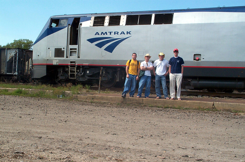 3/14/2004 Amtrak to get to Florida to catch a boat to the Bahamas.<br /> <br /> Jon Deutsch, Chris Webster, JG Ferguson, Billy.