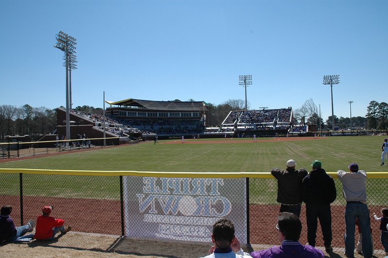 The Clark-LeClair stadium from right field.