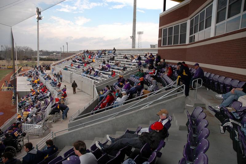 The stadium.