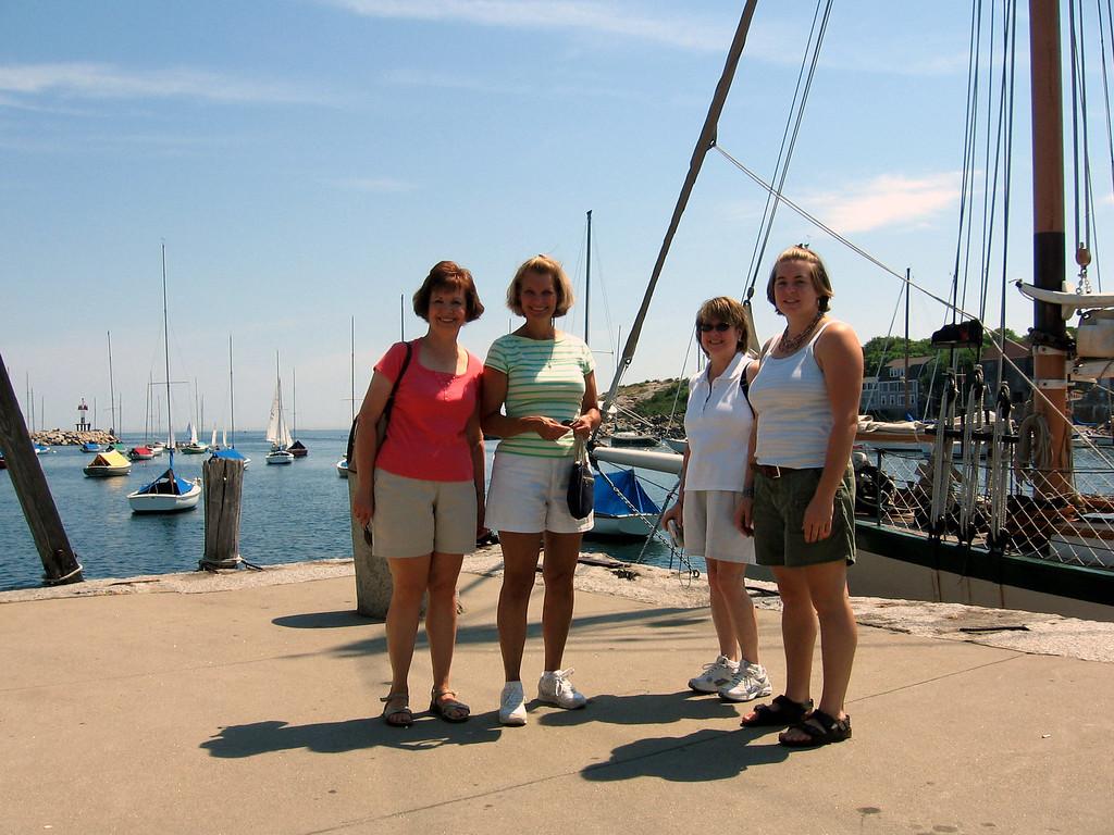 Gail Espinoza, Sue Merrill, Pat Deutsch, Cheryl Deutsch