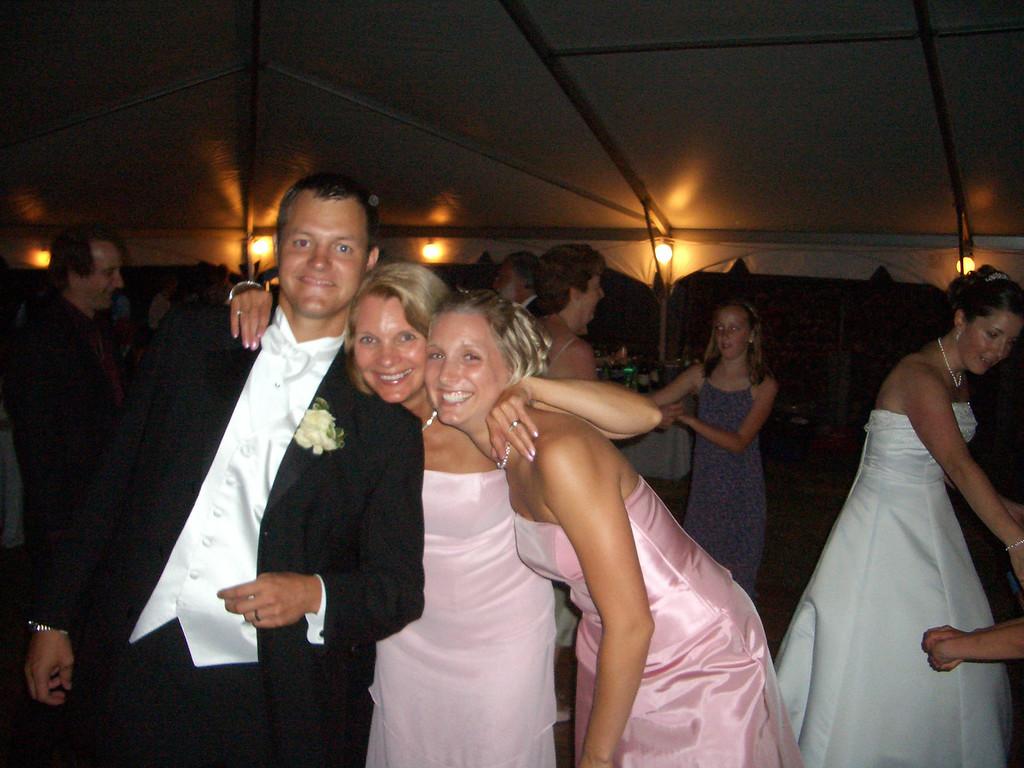 Matt Merrill, Sue Merrill, Becky Merrill