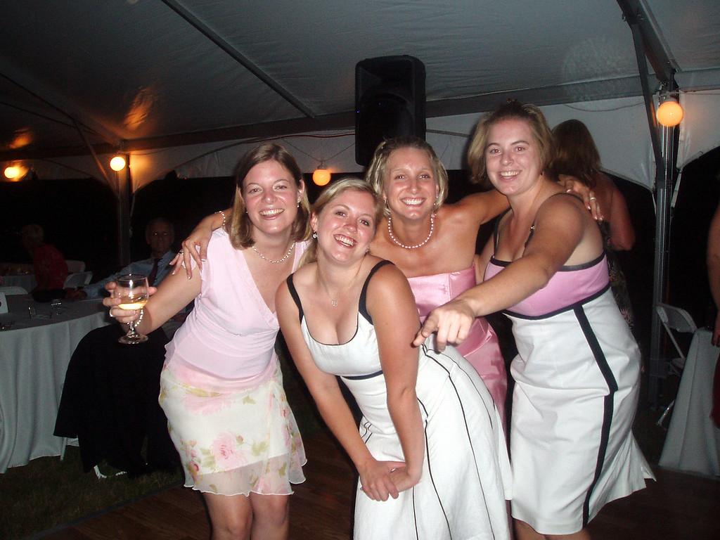 , Amanda Sloan, Becky Merrill, Cheryl Deutsch