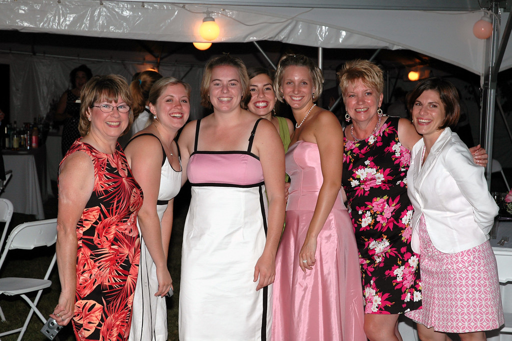 Pat Deutsch, Amanda Sloan, Cheryl Deutsch, Laura Towers, Becky Merrill, Melody Sloan, Faith Manney
