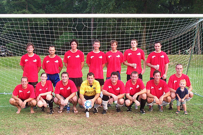 7/11/2006 - Richmond Blaze summer - Jon Deutsch, Sean, Mike Palese, Nate, Chris Rose, Dan Palese, Eddie, Kent Vaughan, Jared, Daryl Grove, Chris Schmidt, Chris Diskin, Jake