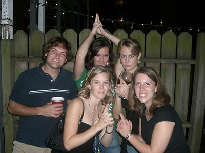 9/16/2006 - Jon Deutsch, Erin, Sarah, Jaime, Marshall