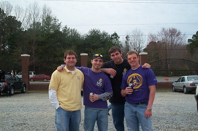 2/25/2006 - ECU Baseball - Clark-Leclair Tournament - Jon Deutsch, Chris Webster, Tom Whatton, JG Ferguson