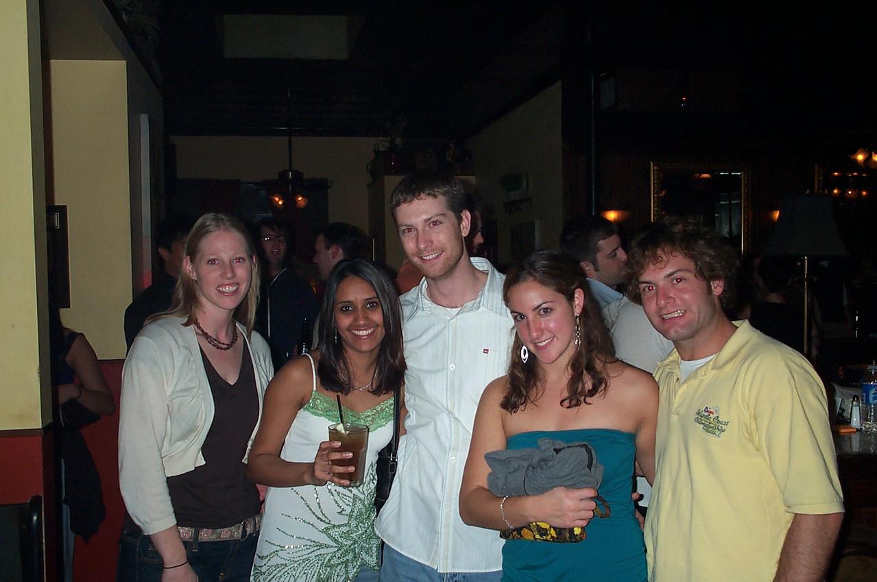 11/10/2006 - Charlotte Reed, Ami Patel, James Walker, Madelaine Goldberg, Jon Deutsch