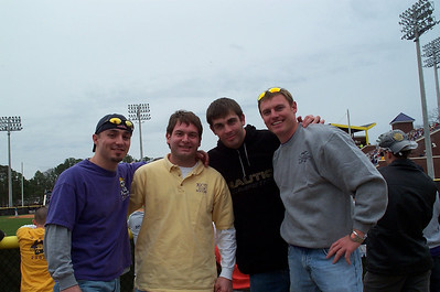 2/25/2006 - ECU Baseball - Clark-Leclair Tournament - Chris Webster, Jon Deutsch, Tom Whatton, JG Ferguson