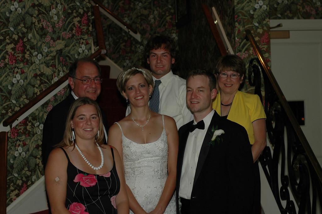 Cheryl Deutsch, Stan Deutsch, Sarah Wolf, Jon Deutsch, Jason Wolf, Pat Deutsch