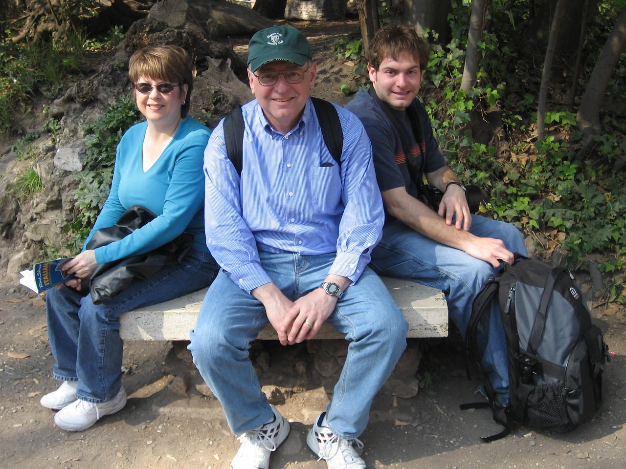 Pat, Stan and Jon Deutsch