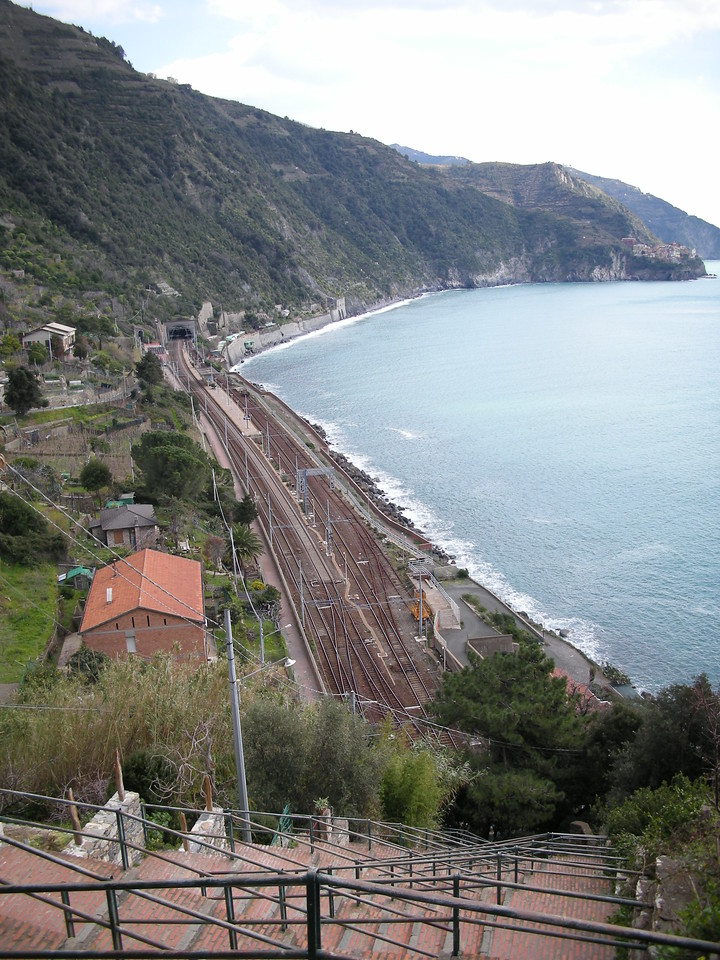 Corniglia rail station.