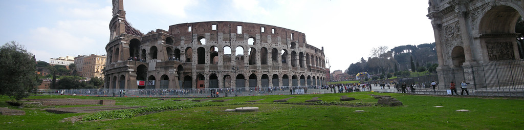 Coliseum panoramic