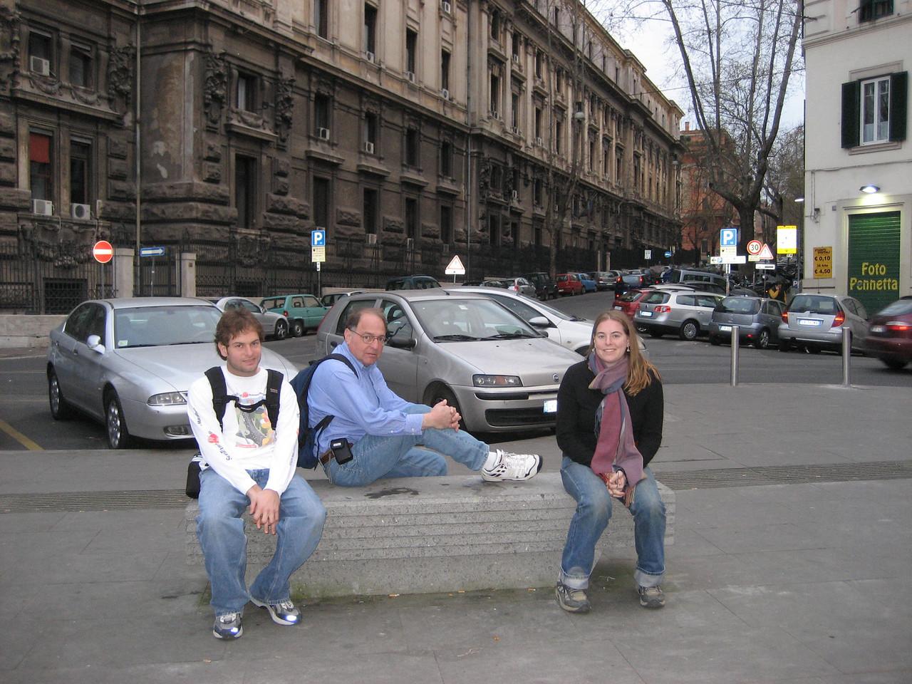 Jon Deutsch, Stan and Cheryl resting again.
