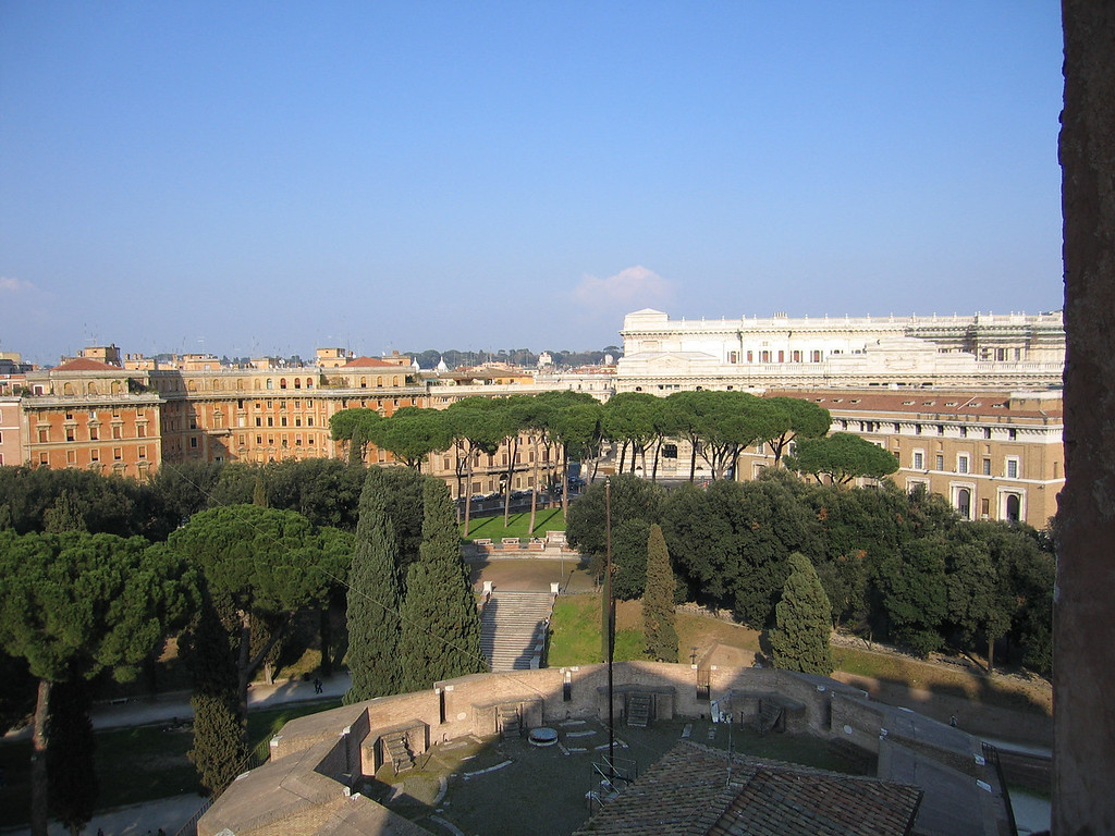 View from Castel Sant'Angelo.
