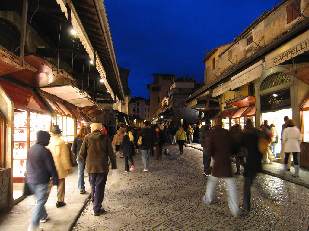 shop on Ponte Vecchio