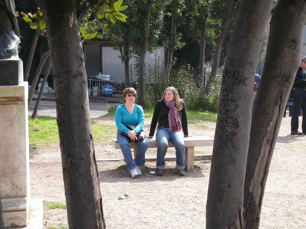 Pat and Cheryl