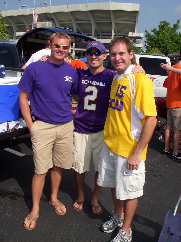 9/1/2007 - ECU @ Virginia Tech - JG Ferguson, Chris Webster, Jon Deutsch