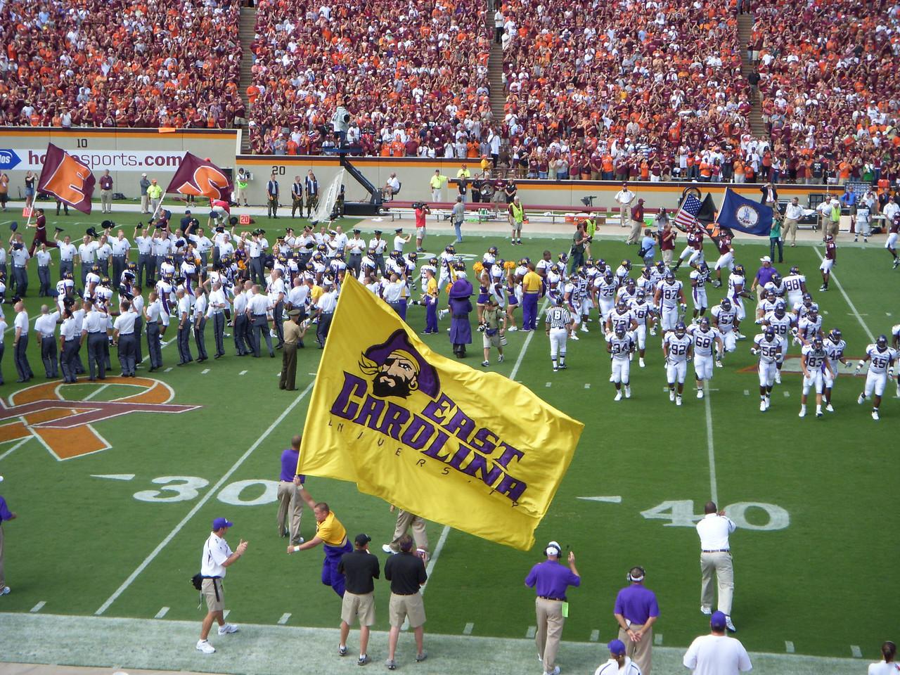 9/1/2007 - ECU @ Virginia Tech