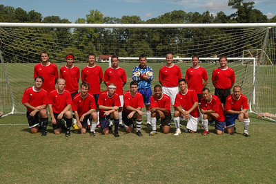 9/16/2007 Richmond Blaze Fall 2007 - Darryl Grove, Nate, Ed, Shaun Peace, Justin Reagan, Dan Palese, Greg, Chip, Sam Na, Jon Deutsch, Mike Palese
