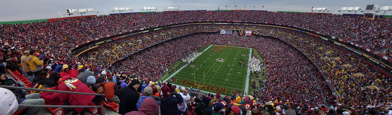12/2/2007 - Buffalo Bills @ Redskins - FedEx Field Panoramic