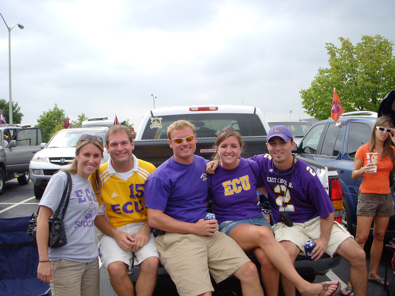9/1/2007 - ECU @ Virginia Tech - Jon Deutsch, JG Ferguson, Cat Morris, Chris Webster
