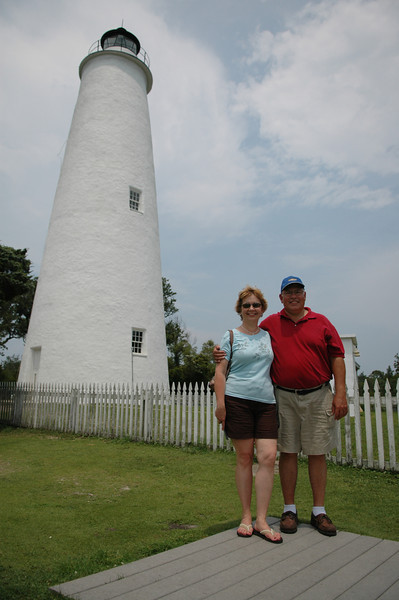 Ocracoke Light Station - Gail Espinoza, Mike Espinoza