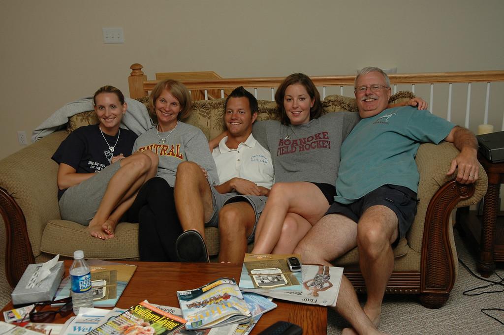 Becky Merrill, Sue Merrill, Matt Merrill, Emily Merrill, Bill Merrill