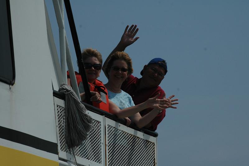 Melody Sloan, Gail Espinoza, Mike Espinoza
