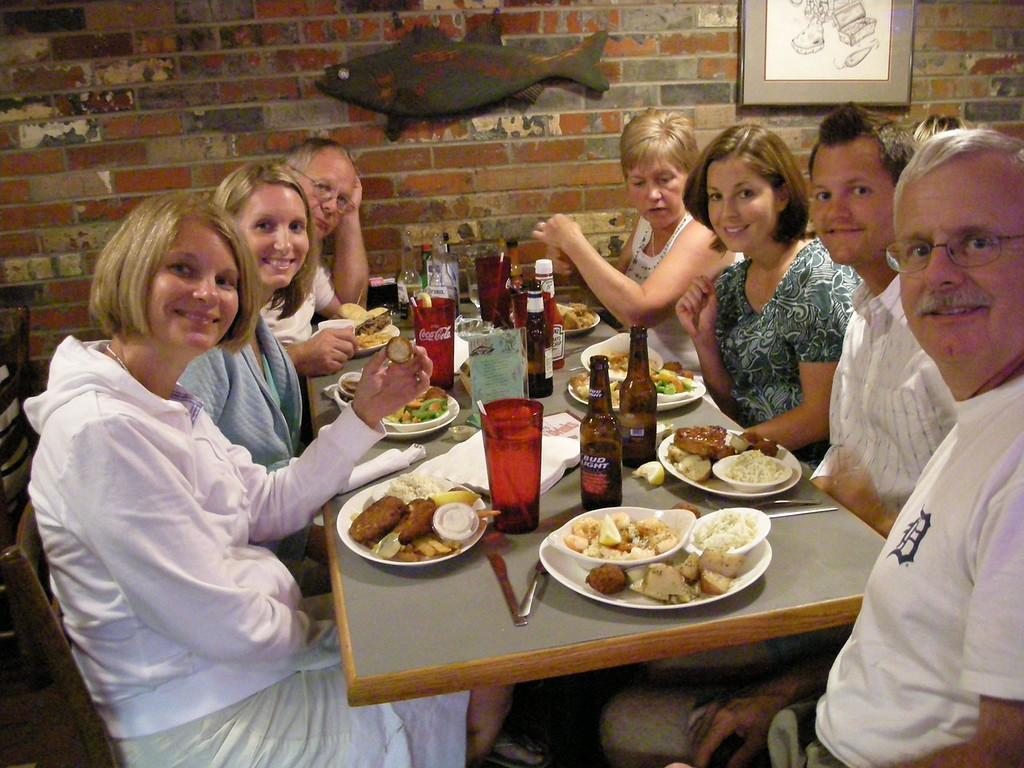 Sue Merrill, Becky Merrill, Jeff Sloan, Melody Sloan, Emily Merrill, Matt Merrill, Bill Merrill