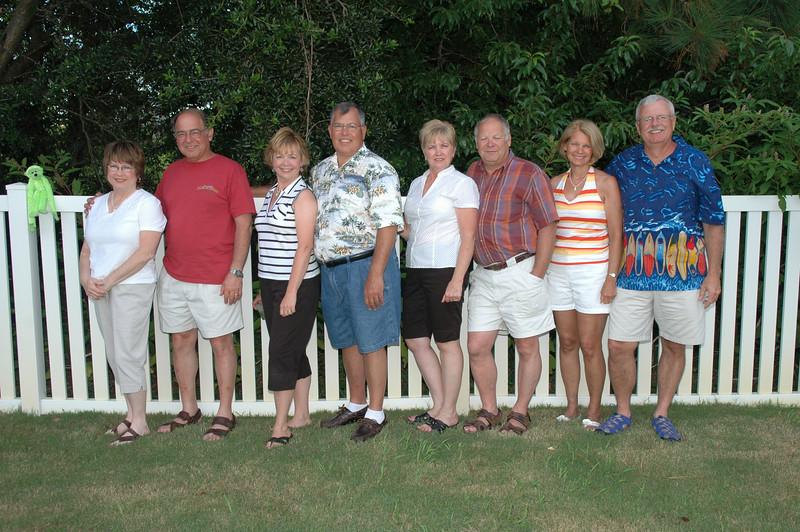 Pat Deutsch, Stan Deutsch, Gail Espinoza, Mike Espinoza, Melody Sloan, Jeff Sloan, Sue Merrill, Bill Merrill