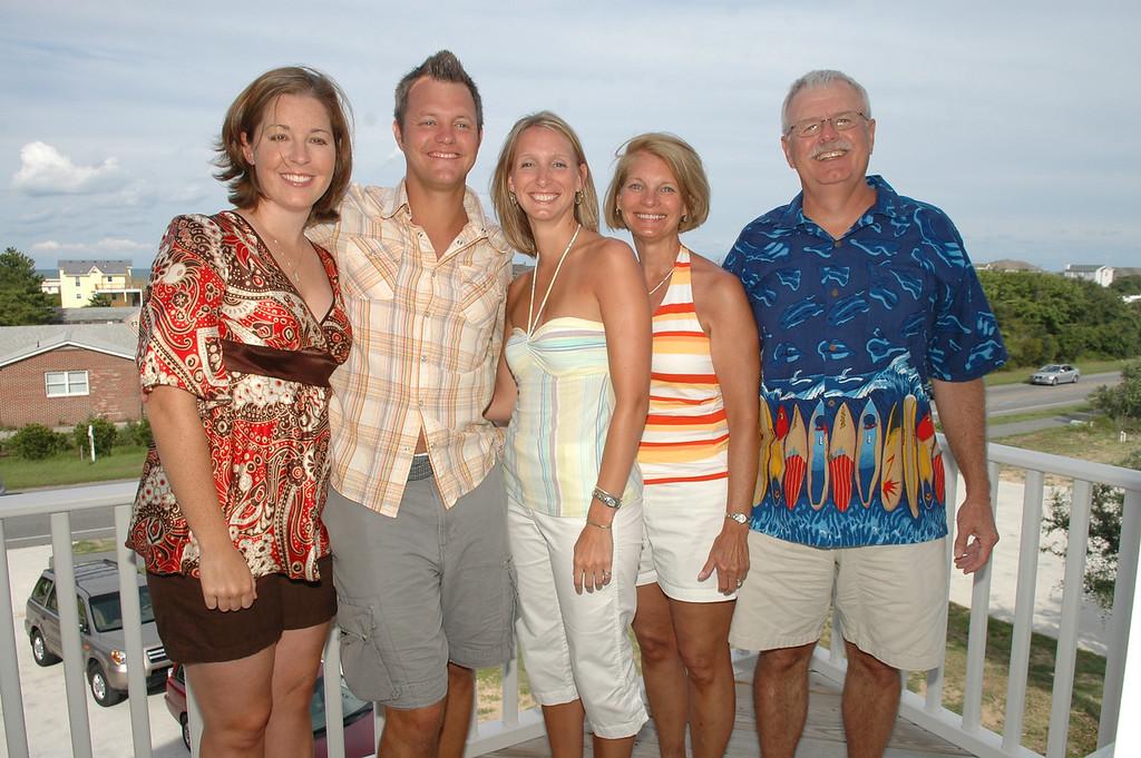 Emily Merrill, Matt Merrill, Becky Merrill, Sue Merrill, Bill Merrill
