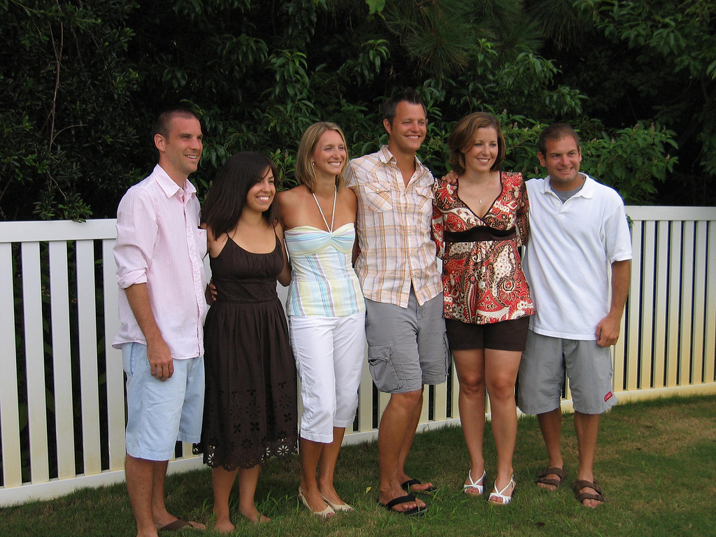 Darren Towers, Laura Towers, Becky Merrill, Matt Merrill, Emily Merrill, Jon Deutsch