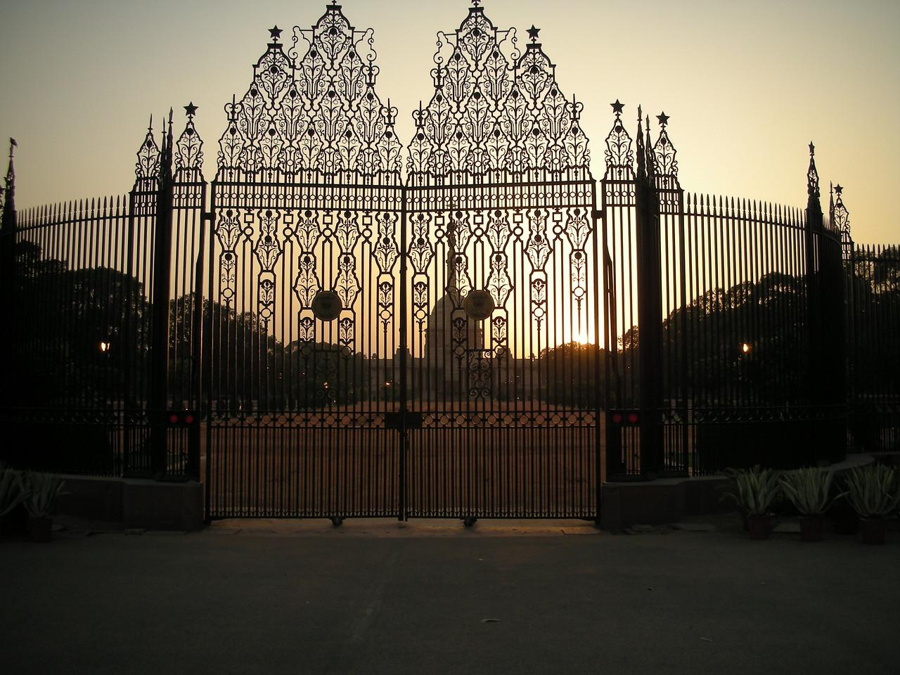 Delhi: Iron Gate.