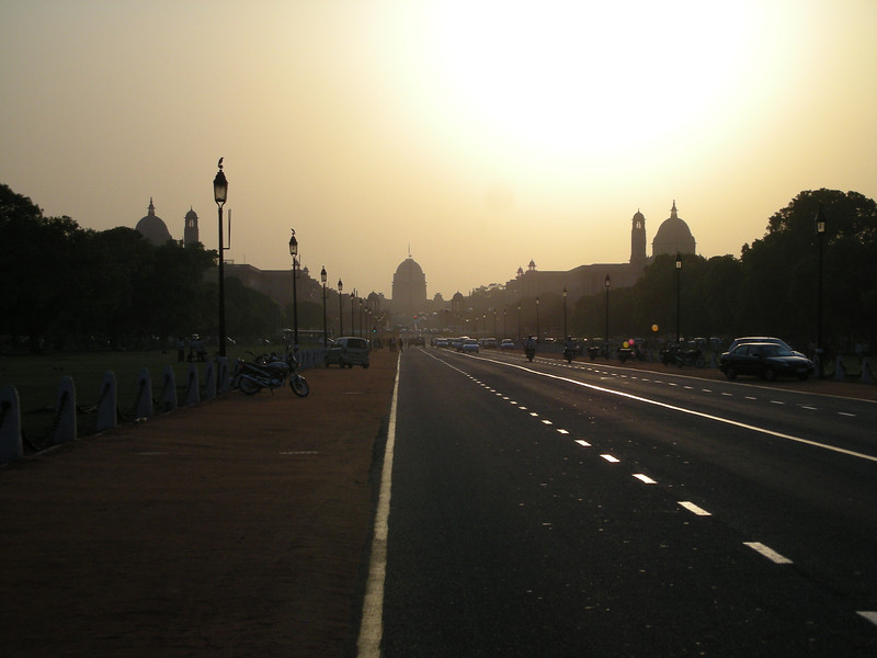 Delhi: Capital as seen from India Gate.