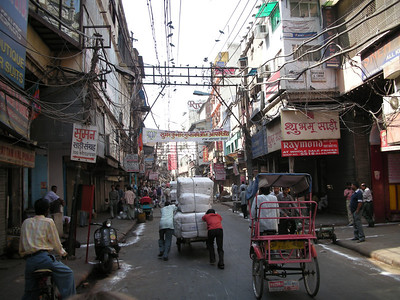 Delhi: The streets of Chandi Chowk.