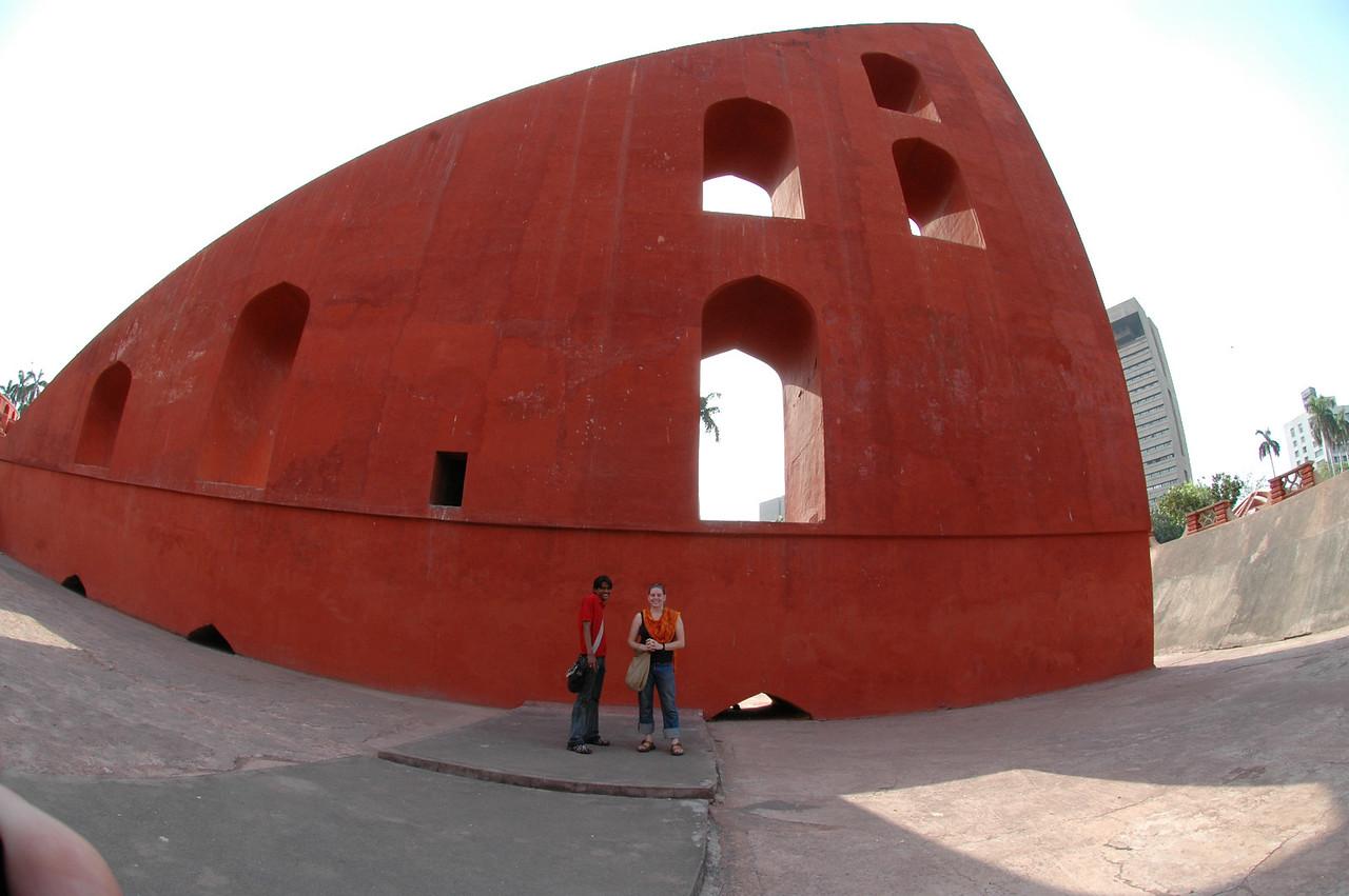 Delhi: Amar & Cheryl Deutsch at Junter Munter.